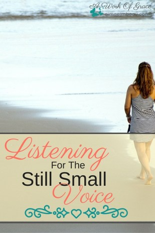 Has your prayer life become nothing more than a list of things you shout out at God? Is it all you talking and never listening? Do you know that He yearns to speak to us? He wants to have a relationship with us and that means more than a one-sided conversation. Listening For The Still Small Voice.