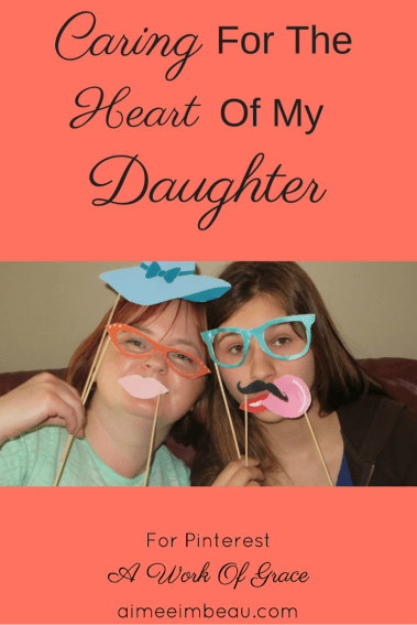 What do you do when your child comes to you with a broken heart? Do you ignore it? Tell them to suck it up? Or do you care for them?