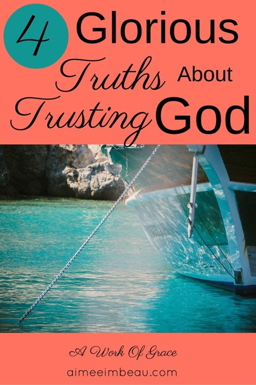 """""""Just trust Him"""" you are told. But you are unsure of how to do that. How can you trust Him? How do you know that you are trusting Him? These questions can cause much anxiety if we don't know the truth about His word. Tips and ideas to help Christian living."""