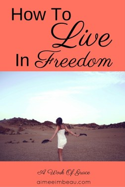 To live in the freedom Jesus shed His blood for is not an easy way of life. I want to share some truths about freedom with you. I want you to know how the Lord cares for your heart. How To Live In Freedom.