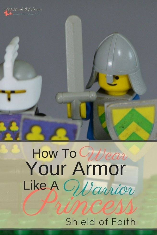 Often times, as Christians, we are unaware of how to properly use our armor. We awkwardly fumble with our gear and wonder if we even have it all on right. This is the first part ofa small series on How To Wear Your Armor Like A Warrior Princess. I pray it encourages you in your Christian living and godly womanhood!