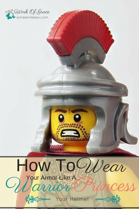 Are you struggling with listening to lies whispered into your life? Not sure how to stop them? You know about God's armor, but you have no idea how to put it all together let alone us it! I teach about the helmet in this post. How To Wear Your Armor Like A Warrior Princess - Your Helmet
