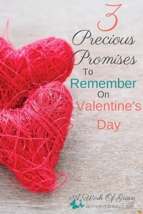 3 Promises For Valentine's Day