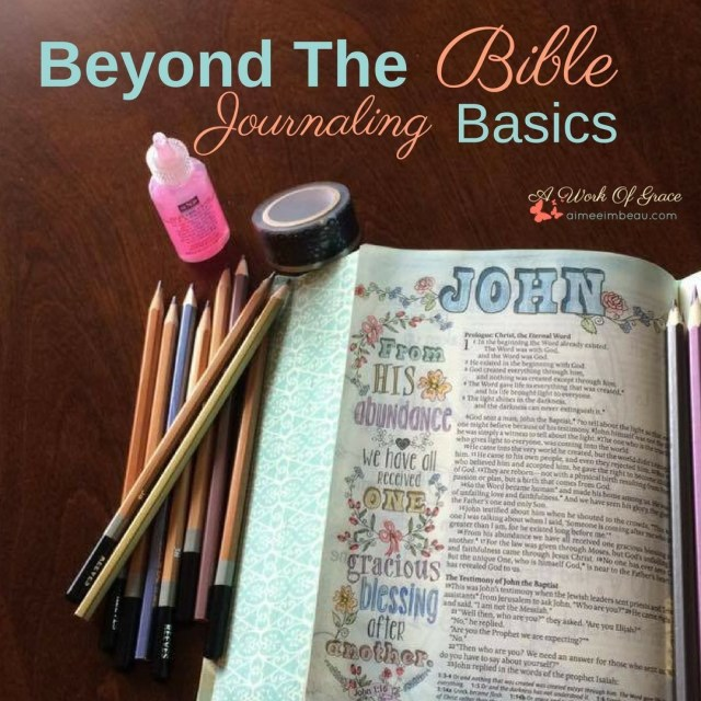 Youve covered the basics of Bible journaling and you arehellip