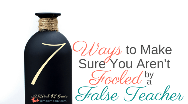 The idea of being fooled by a false teacher can be frightening. Who can be trusted? How can we prevent ourselves from being hoodwinked by these master deceivers? How can we trust that any Bible teacher we listen to is not a false teacher? Well, to get the answer to this question, we can look directly to Scripture. Here are 7 Ways to Make Sure You Aren't Fooled by a False Teacher.