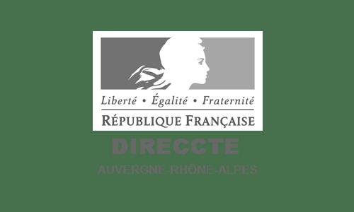 Logo DIRECCTE Auvergne-Rhone-Alpes