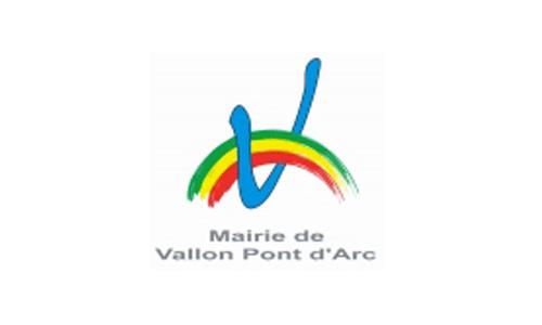 Logo et lien Mairie de Vallon Pont d'Arc
