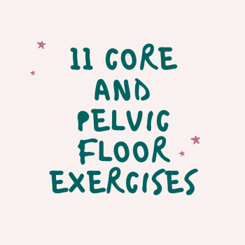 core and pelvic floor exercise guide