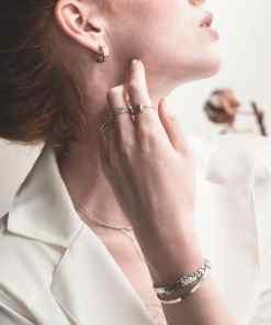 Aimée Private Collection bijoux collier diamant collier aimee private collection bijoux pas cher plaqué or argent mode femme boucles d'oreilles accessoire bracelet