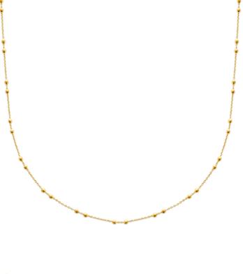 Sautoir Perla plaqué or 18K 3 microns avec perles Aimée Private Collection tendance influenceuse bijoux fantaisie mode