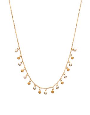 Collier Kate plaqué or 18K 3 microns avec diamants zirconium Aimée Private Collection tendance influenceuse bijoux fantaisie mode