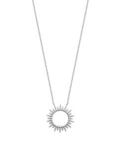 Collier Sunny argent 925 rhodié soleil Aimée Private Collection tendance influenceuse bijoux fantaisie mode