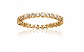 Bague Venus en plaqué or 18k 3 microns sertie de diamants zirconium Aimée Private Collection nouveau modèle influenceuse tendance élégance bijoux fantaisie