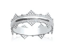 Bague Reine en argent 925 rhodié Aimée Private Collection nouveau modèle influenceuse tendance élégance belle bague