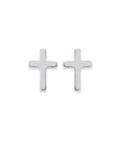 Boucles d'oreilles Christ en argent 925 rhodié Aimée Private Collection nouveau modèle tendance