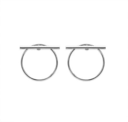boucles d'oreilles Dile en argent 925 rhodié Aimée Private Collection nouveau modèle