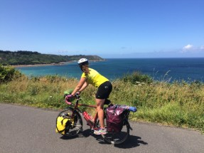 Bicycling the Bretagne coasts