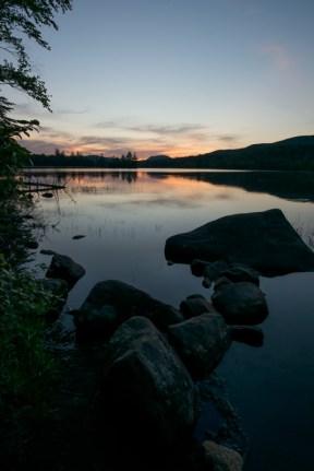 Lake Durant at Sunset