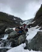 """Hanging"" Glacier"