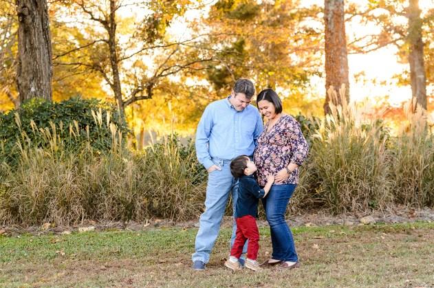 Family Portrait - Family Posing in Tryphena's Garden