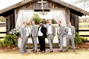 Middle Georgia Wedding, Plantation Farms wedding, bride and groom, wedding day, farm wedding, garden wedding, groom with groomsmen