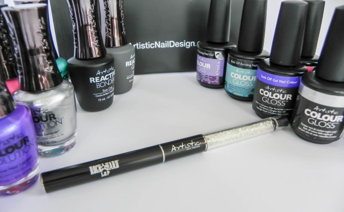 Artistic Colour Gloss and Colour Revolution at Aimees Nail Studio Peterborough On