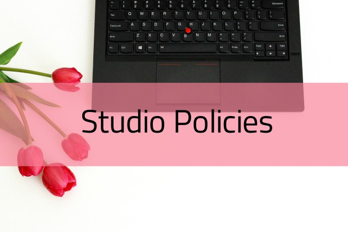 Studio Policies for Aimees Nail Studio Peterborough ON