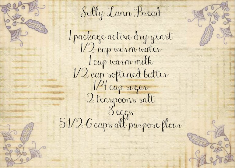 march sally lunn bread