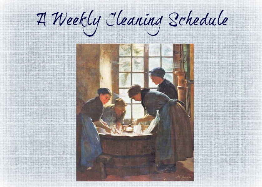 april cleaning