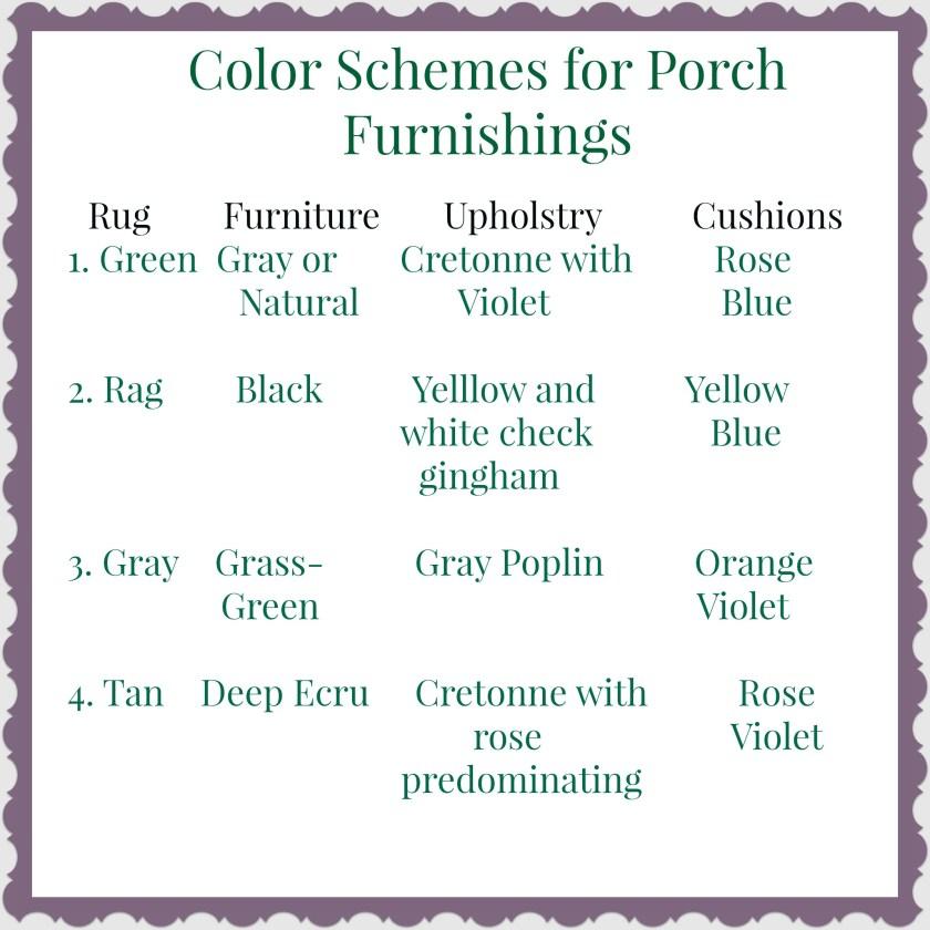 june porch colors