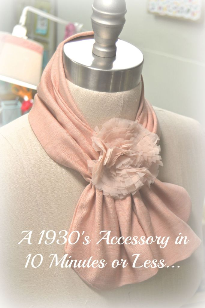 1930's Scarf