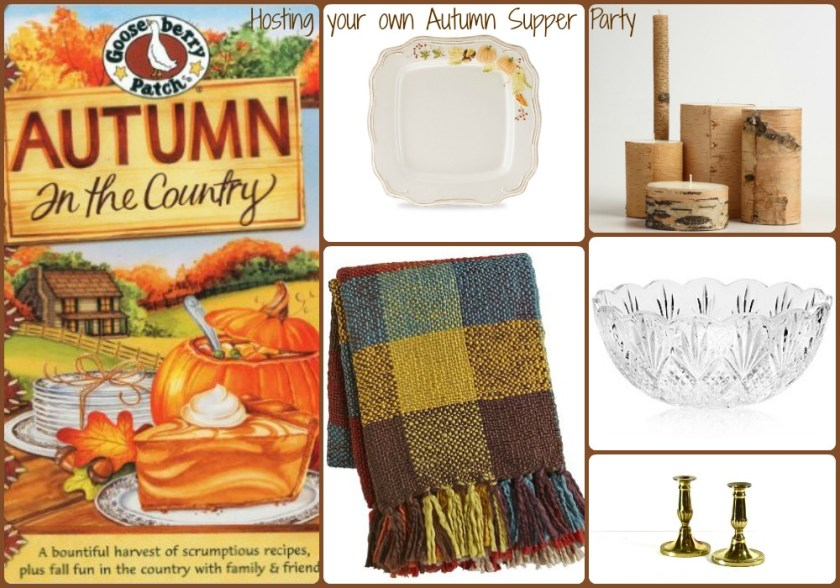 Autumn Supper Party products