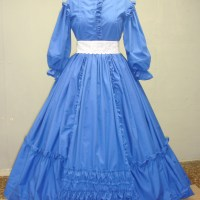 1860's Civil War Day Dress: COMPLETE!!!