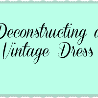 Deconstructing a Dress