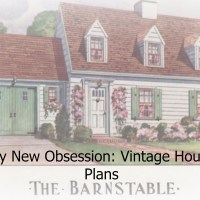 My New Obsession: Vintage House Plans
