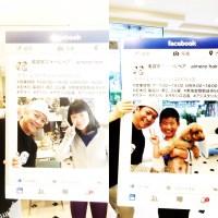 美容院エメールヘアの最年少のFacebook友達ができました!