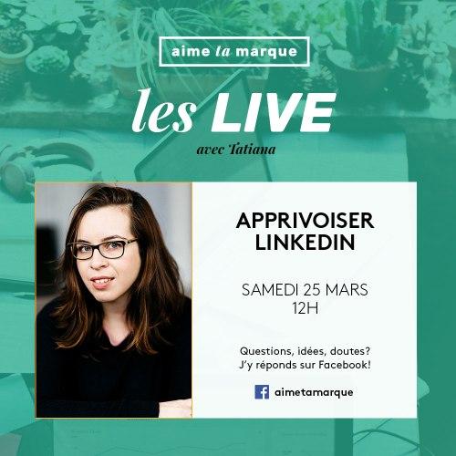 Aime Ta Marque Facebook Live 25 mars 2017