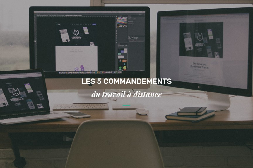 commandements du travail à distance