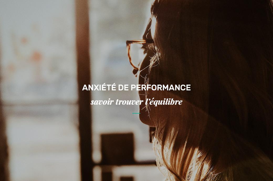 Anxiété de performance