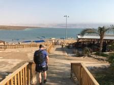 Headed to the Dead Sea beach
