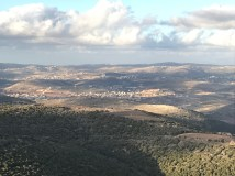 Overlook with views of Lebanon