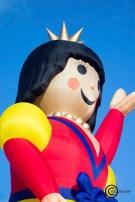 Interesting shaped hot air balloon: Snow White Balloon Photo
