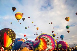 Beautiful Hot Air Balloons Photo
