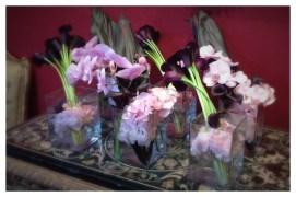 Château de Chenonceau, Chenonceau, France, Castle, Loire Valley, Flower arranging, Floral Design, calla, orchid, orchidée