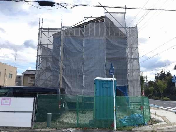 アイモク新モデルハウス「エルシェハート」上棟しました!