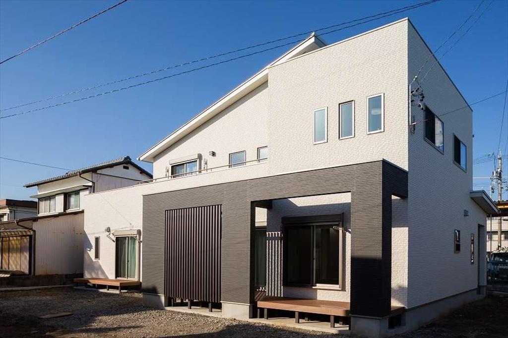 鈴鹿市|M様邸|新築・注文住宅|シンプルモダンで造る二世帯住宅