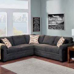 Chenille Sectional Sofas With Chaise Modern L Shape Sofa Comfort Lexi – In Three Colors | Aim Rental
