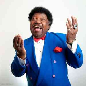 Percy Sledge in Blue Suit