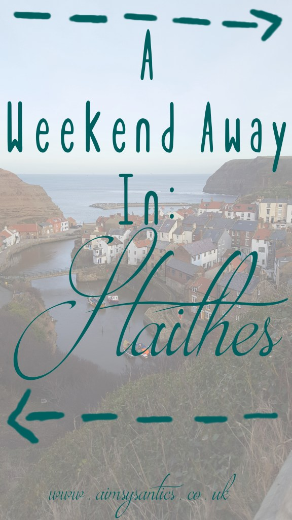 A weekend away in Staithes title picture