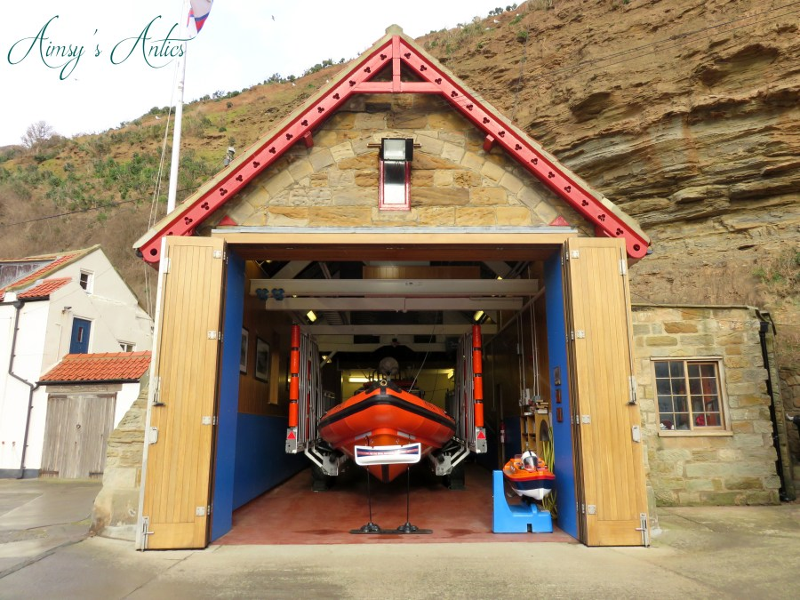 RNLI Lifeboat Staithes
